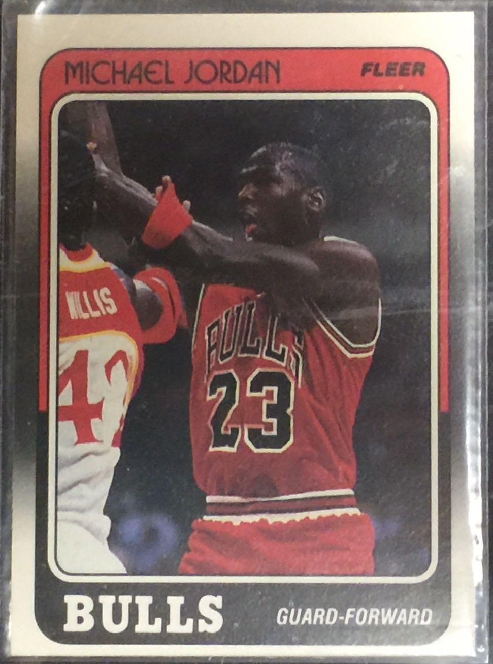 Fleer Michael Jordan Card Revlon Coupons