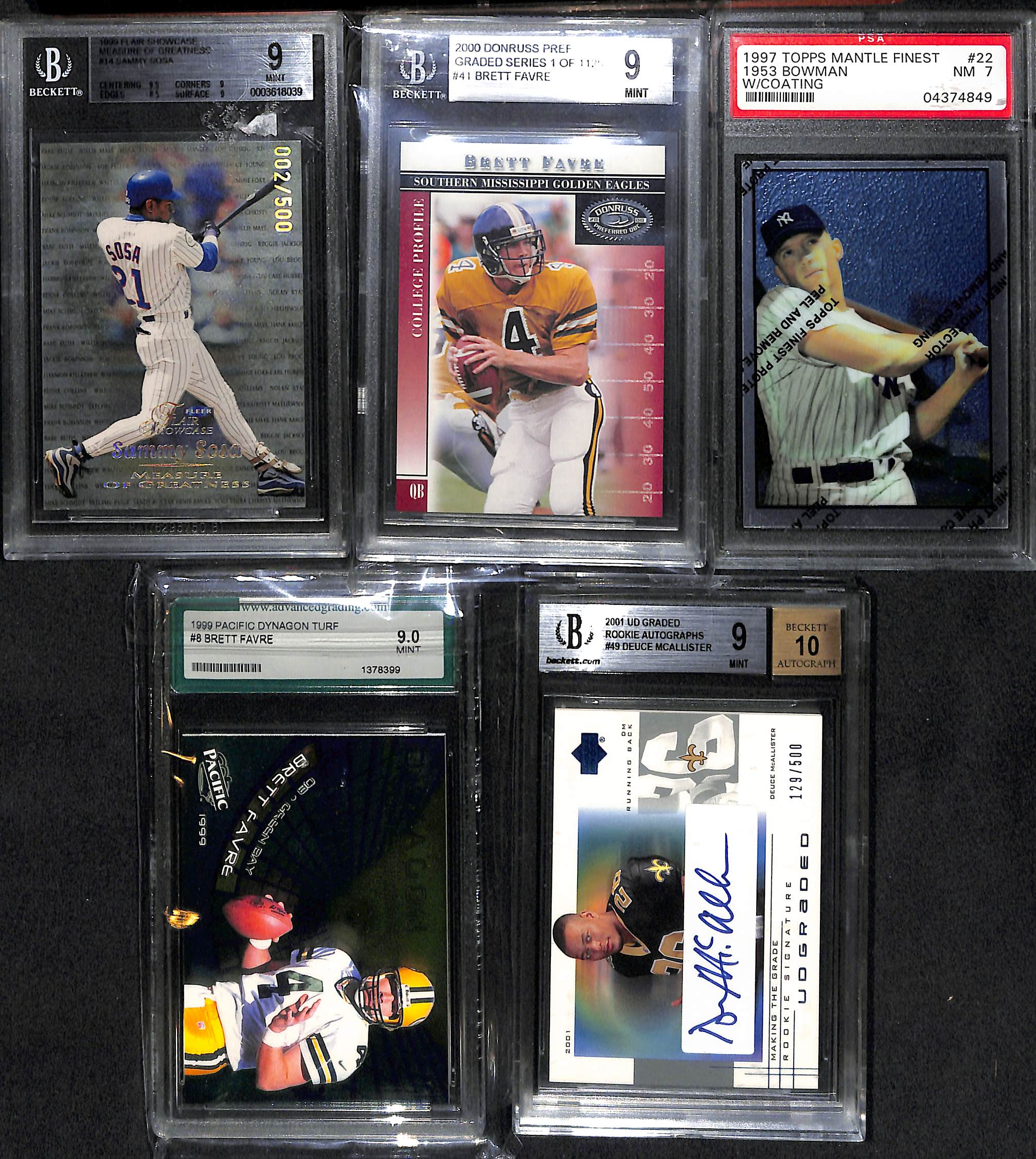 Lot Of Mixed Sports Graded Star & Rookie