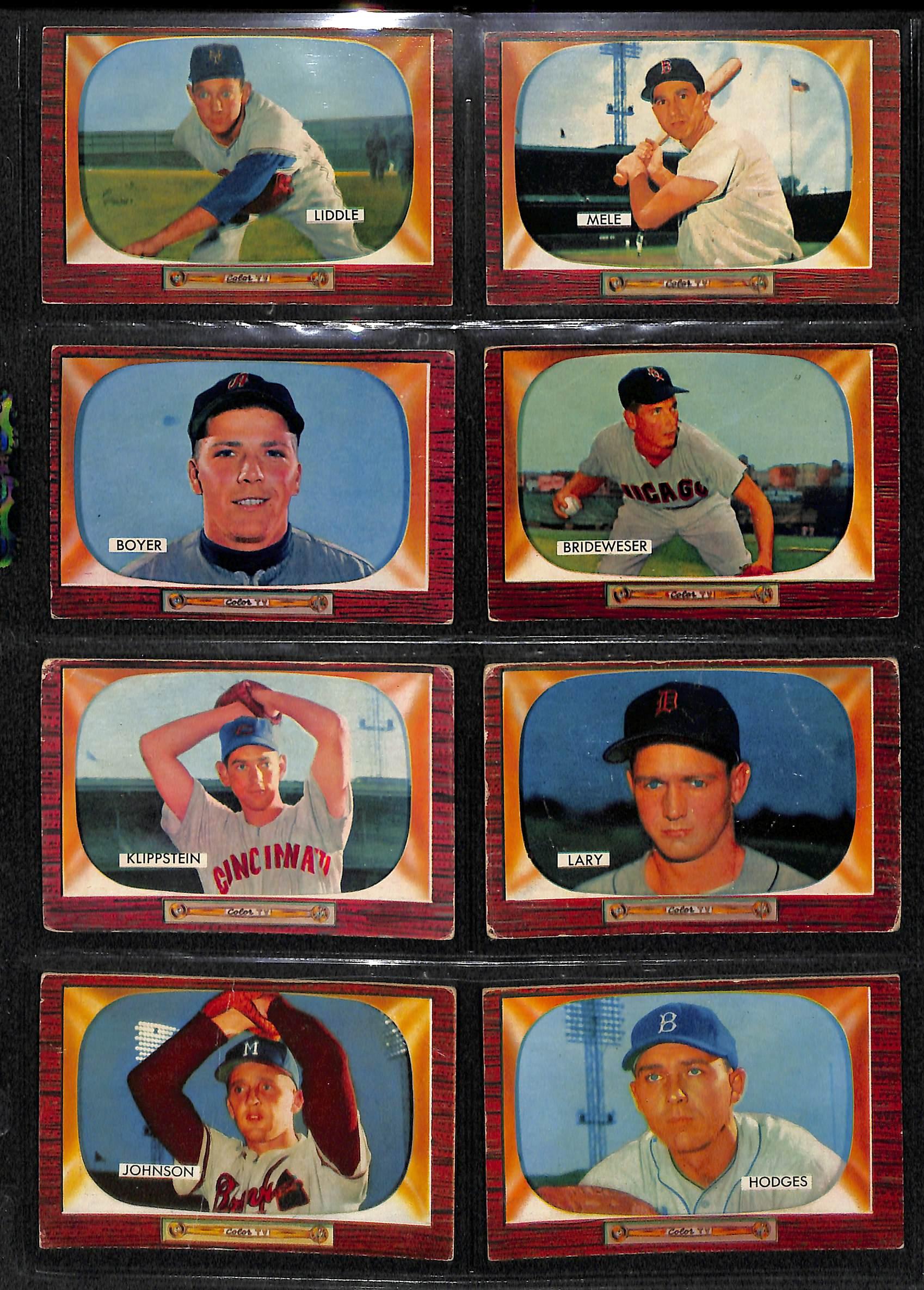 Lot Detail Lot Of 661955 Bowman Baseball Cards With Yogi Berra