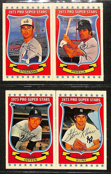 1973 Kellogg's Pro Super Stars Baseball Near