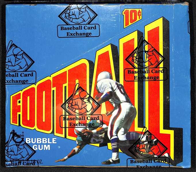 1972 Topps Football Series 2 Unopened Wax Box (BBCE Sealed) w/ 24 Wax Packs