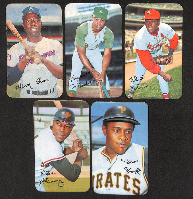 Lot Of 165 Assorted 1970 Topps Super Baseball