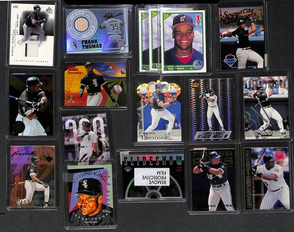 Lot Detail Lot Of 145 Assorted Frank Thomas Cards W