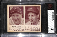 1941 Double Play #61 Lefty Gomez/Phil Rizzuto Graded SGC 4 (VG-EX)