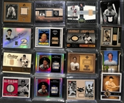 Lot of (16) Nellie Fox Baseball Baseball Bat & Jersey Relic Cards