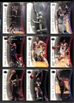 5 Complete Upper Deck Basketball Base Sets 2000-01 though 2005-06 - Various UD Product Lines (each set includes 90 cards)
