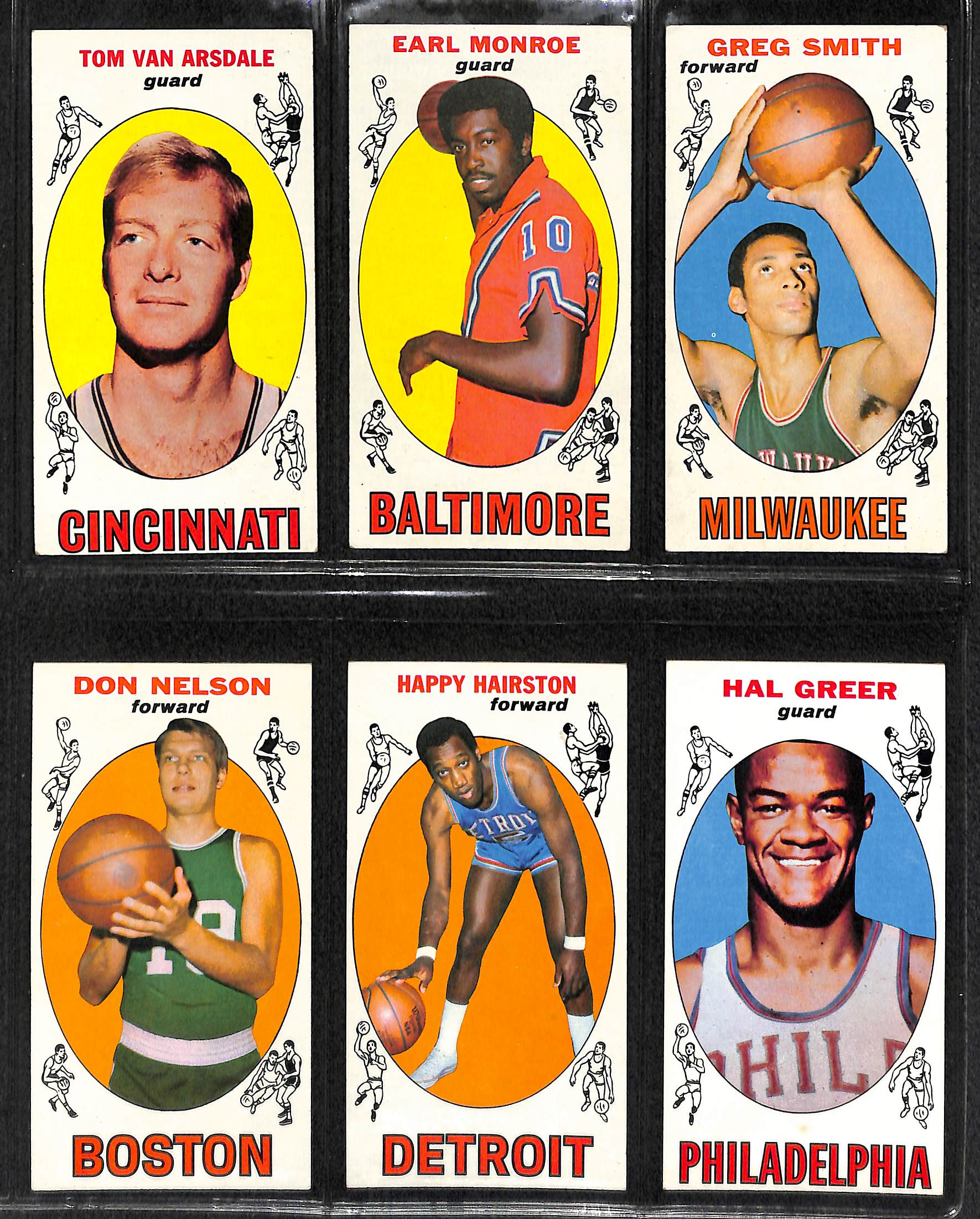 Lot Detail 1969 70 Topps Basketball plete Set 99 Cards w