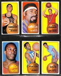 1970-71 Topps Basketball First Series Complete Set of 110 Cards w. Lew Alcindor & Wilt Chamberlain