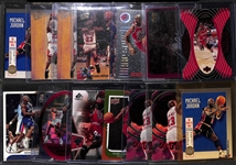 Lot of 14 Michael Jordan Insert Cards