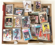 Lot of 700+ 1971-1996 Star & Insert Basketball Cards