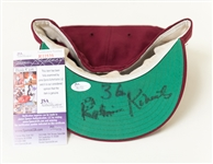 Robin Roberts Autographed Phillies Hat - Likely Worn During a Reunion or Old Timers Game (JSA)