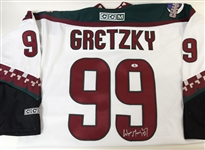 RARE Wayne Gretzky Signed Phoenix Coyotes Jersey (Coyotes and Beckett COAs)