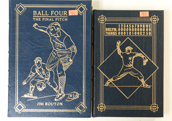 d6b48ccba292 Lot Detail - Limited Edition Hardback Baseball Books Signed by Don ...
