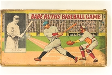 Early 1900s Babe Ruths Baseball Game - Includes Box and Board Game by Milton Bradley