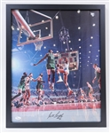 "Basketball Legend Bill Russell Signed/Framed 16""x20"" Photo"