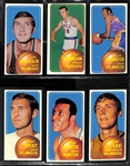 1970-71 Topps Basketball Second Series Partial Set of 51 Cards w. Jerry West & Willis Reed