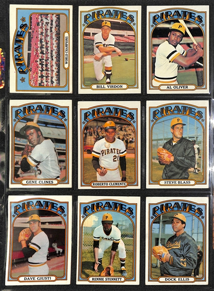 1972 Topps Baseball Complete Set of 787 Cards