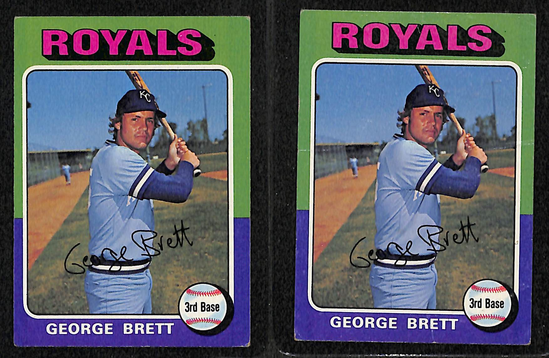 Lot Detail Lot Of 600 Topps Baseball Cards From 1974 1979 W