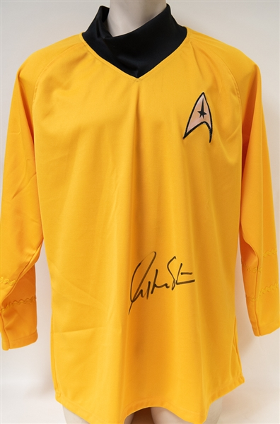 William Shatner Signed Star Trek Uniform Shirt - JSA