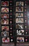Lot Of 14 Basketball Legends Autograph Cards w. Chuck Daly