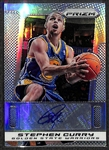 2013-14 Panini Prizm Stephen Curry Autograph Refractor Card 21/25
