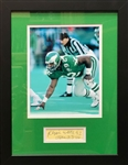 Reggie White Framed Cut Signature Display - Signed & Inscribed - JSA