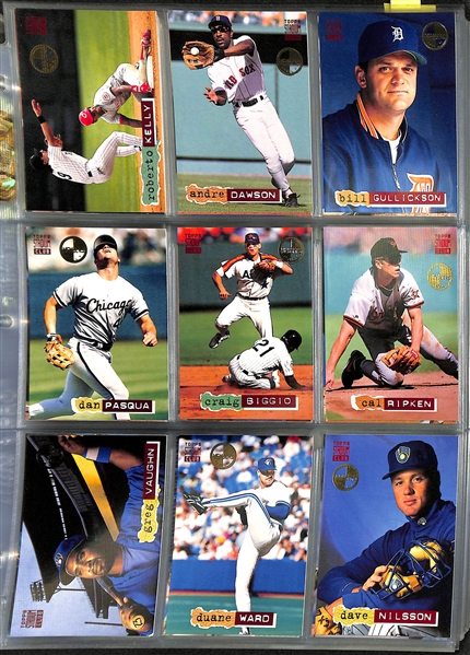 1994 Topps Baseball Stadium Club Members Only Complete Set w. Inserts