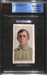 1910-11 Sporting Life M-116 #161 Sherry Magee (Philadelphia As) - BVG Authentic