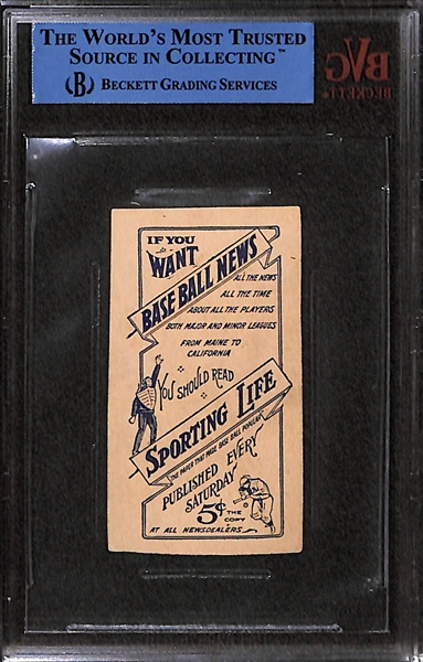 1910-11 Sporting Life M-116 #161 Sherry Magee (Philadelphia A's) - BVG Authentic