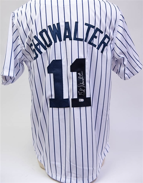 Buck Showalter (Manager) Signed New York Yankees Jersey - MLB Cert