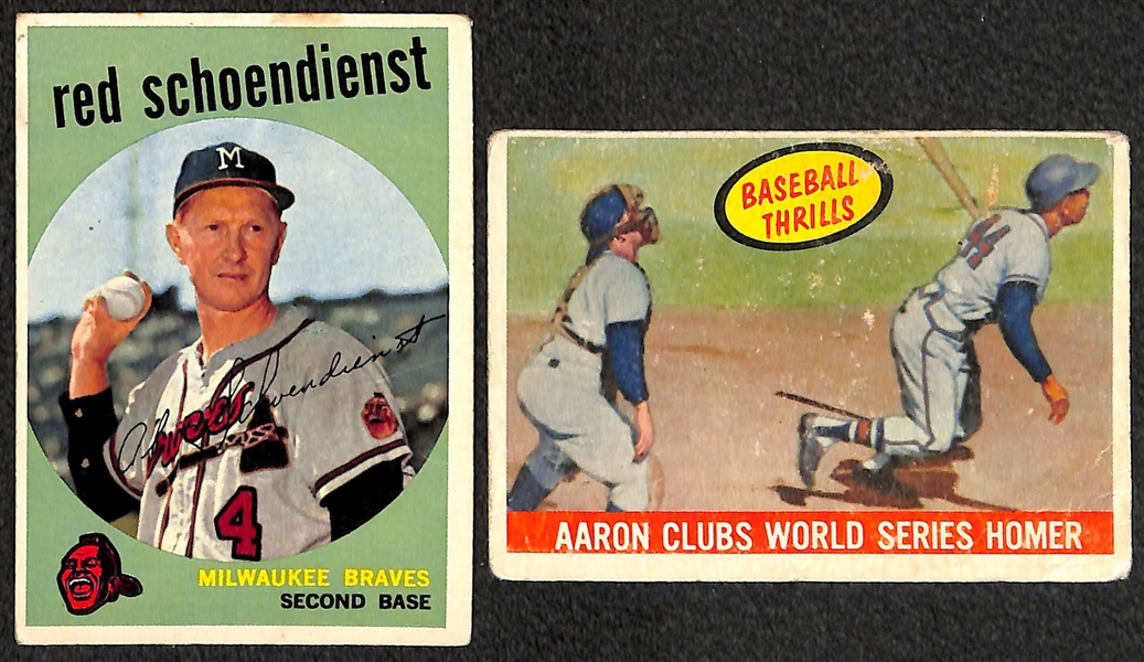 Lot of (40) 1959-1960 Topps Baseball Cards w. 1959 Berra & 1960 Ford