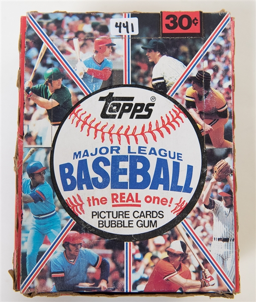 1981 Topps Baseball Unopened Wax Box - 36 Packs - BBCE