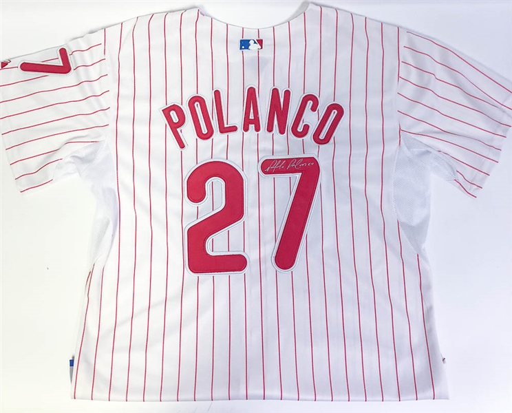 Placido Polanco Signed Phillies Jersey