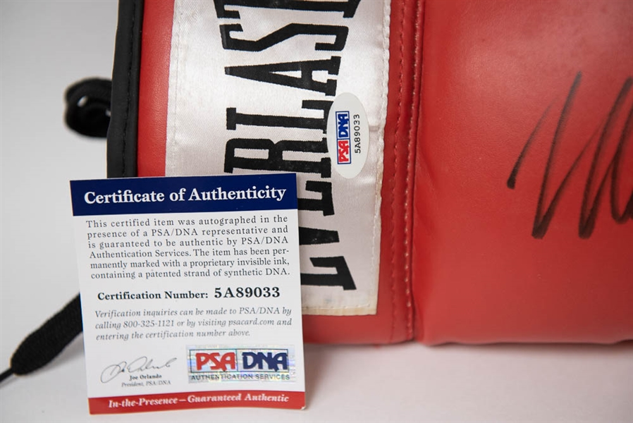 Mike Tyson Signed Boxing Glove - PSA/DNA