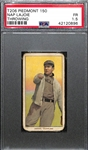 1909-11 T206 Nap Lajoie (HOF) Throwing, Piedmont 150 Subjects Graded PSA 1.5
