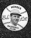 1934 Quaker Oats Premium Original Babe Ruth Baseball Club Pin