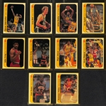 High-Grade 1986-87 Fleer Complete Sticker Set (Missing Michael Jordan Rookie Sticker)