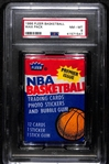 Rare 1986-87 Fleer Basketball Unopened Pack Graded PSA 8 (Potential High-Grade Michael Jordan Rookie)