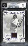 2017 Leaf Babe Ruth Immortal Collection 1/1 Bat Relic Card BGS 9