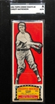 1951 Topps Connie Mack All Stars Christy Mathewson Slabbed SGC Authentic (Full Card)