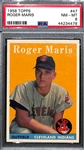 1958 Topps Roger Maris Rookie Card Graded PSA 8 (NM-Mint)