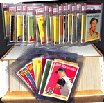 Near Complete High-Grade 1958 Topps Baseball Card Set (Missing Only 3 Cards Listed Above) w. Brooks Robinson PSA 7 (2nd Year Card)