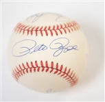 Big Red Machine Signed ONL Baseball (Signed by Rose, Morgan, Bench, and Perez) - JSA Auction Letter