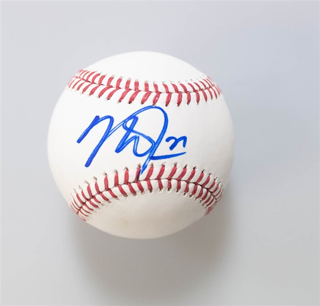 Mike Trout Signed Official MLB Baseball - JSA LOA