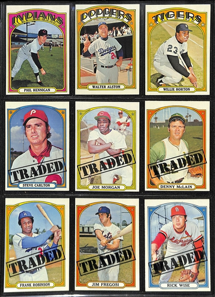 1972 Topps Baseball Card Complete Set (All 787 Cards!)