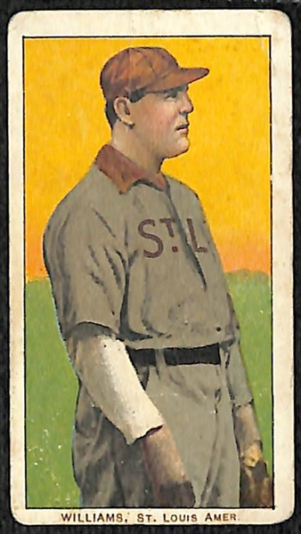 T206 Lot (3) - Jimmy WIlliams (St. Louis Browns), Jiggs Donohue (Chicago AL), Rube Oldring (Phil.A's)