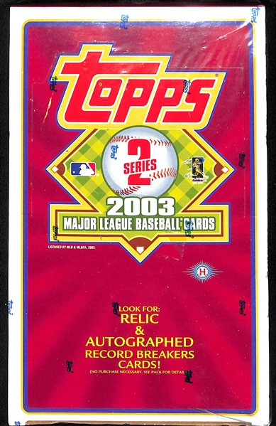 Lot of (4) Assorted Sport Sealed Boxes - 2001 Upper Deck Premier Golf, 2007 NFL Players Rookie Premier, 2003 Topps Baseball Series 2 Hobby Box & 1996 SP Baseball