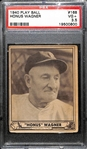 1940 Play Ball Honus Wagner #168 Graded PSA 3.5