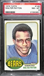 Pack Fresh 1976 Topps Walter Payton #148 Rookie Card Graded PSA 8 w. Amazing Eye Appeal