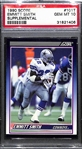 1990 Score Supplemental Emmitt Smith Rookie Card #101T Graded PSA 10 Gem Mint - HOT!